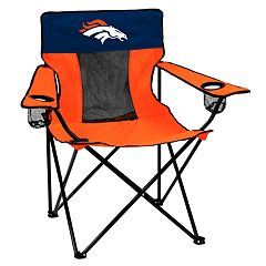 Adult Logo Brand Denver Broncos Elite Portable Folding Chair