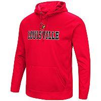Men's Campus Heritage Louisville Cardinals Sleet Pullover Hoodie