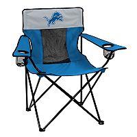 Adult Logo Brand Detroit Lions Elite Portable Folding Chair
