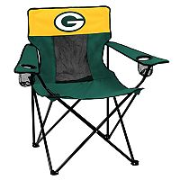 Adult Logo Brand Green Bay Packers Elite Portable Folding Chair