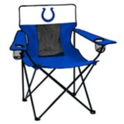 Adult Logo Brand Indianapolis Colts Elite Portable Folding Chair