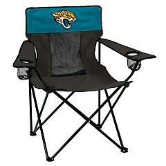 Adult Logo Brand Jacksonville Jaguars Elite Portable Folding Chair