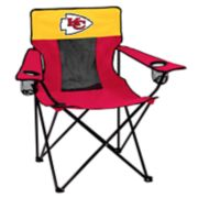 Adult Logo Brand Kansas City Chiefs Elite Portable Folding Chair