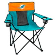 Adult Logo Brand Miami Dolphins Elite Portable Folding Chair
