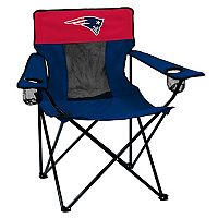 Adult Logo Brand New England Patriots Elite Portable Folding Chair