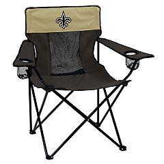 Adult Logo Brand New Orleans Saints Elite Portable Folding Chair