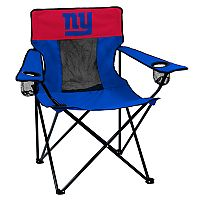 Adult Logo Brand New York Giants Elite Portable Folding Chair