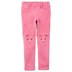 Baby Girl Carter's Character Face Leggings