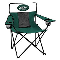 Adult Logo Brand New York Jets Elite Portable Folding Chair