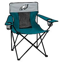 Adult Logo Brand Philadelphia Eagles Elite Portable Folding Chair