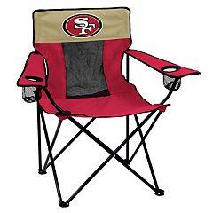 Adult Logo Brand San Francisco 49ers Elite Portable Folding Chair