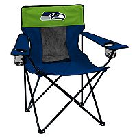 Adult Logo Brand Seattle Seahawks Elite Portable Folding Chair