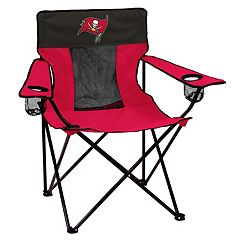 Adult Logo Brand Tampa Bay Buccaneers Elite Portable Folding Chair