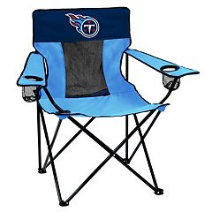 Adult Logo Brand Tennessee Titans Elite Portable Folding Chair