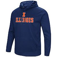 Men's Campus Heritage Illinois Fighting Illini Sleet Pullover Hoodie