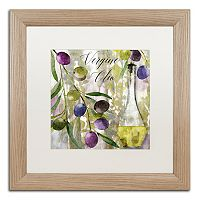 Trademark Fine Art Colors Of Tuscany II Distressed Framed Wall Art