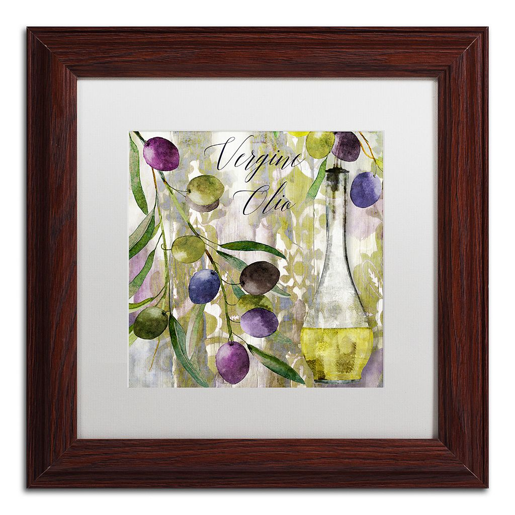 Trademark Fine Art Colors Of Tuscany II Framed Wall Art