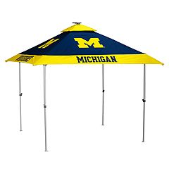 Logo Brand Michigan Wolverines Pagoda Tent