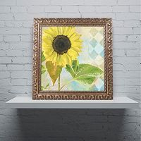 Trademark Fine Art Soleil III Ornate Framed Wall Art