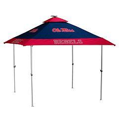 Logo Brand Ole Miss Rebels Pagoda Tent