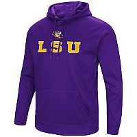 Men's Campus Heritage LSU Tigers Sleet Pullover Hoodie