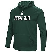 Men's Campus Heritage Michigan State Spartans Sleet Pullover Hoodie