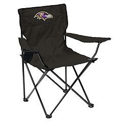 Adult Logo Brand Baltimore Ravens Quad Portable Folding Chair