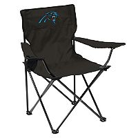 Adult Logo Brand Carolina Panthers Quad Portable Folding Chair