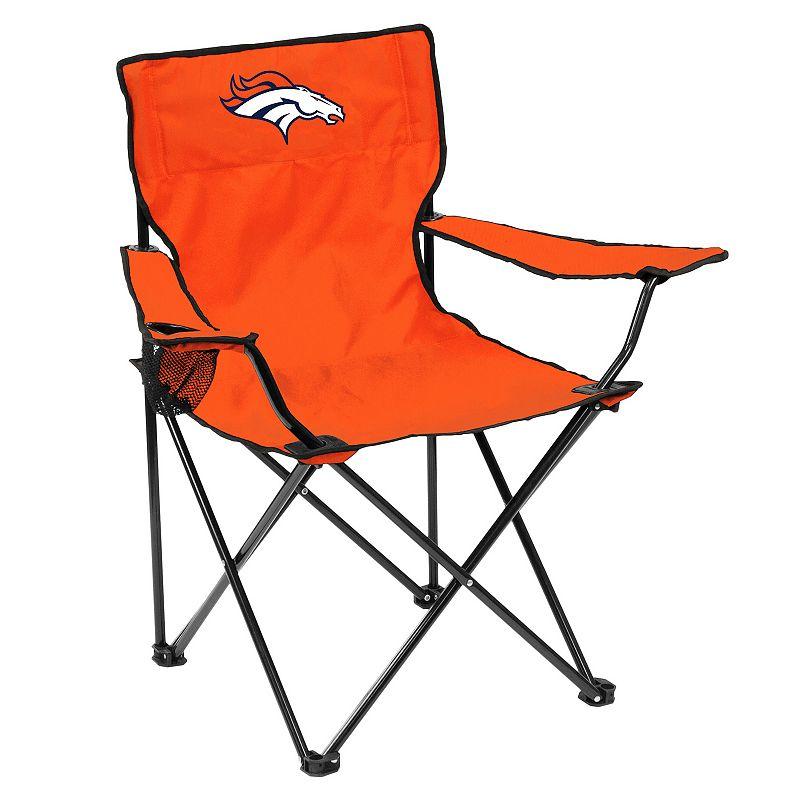 Adult Logo Brand Denver Broncos Quad Portable Folding Chair