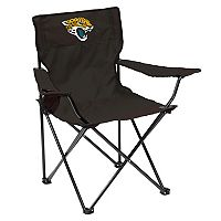 Adult Logo Brand Jacksonville Jaguars Quad Portable Folding Chair