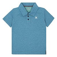 Boys 4-7 Hurley Dri-FIT Heathered Polo