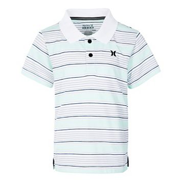 Boys 4-7 Hurley Dri-FIT Striped Polo