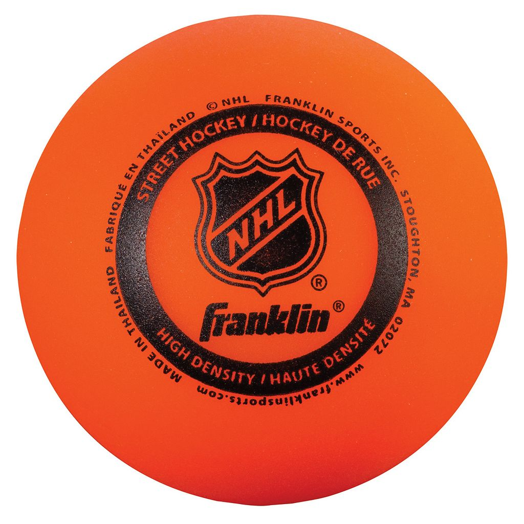 Franklin Sports NHL 3-pk. AGS Pro High Density Street Hockey Balls