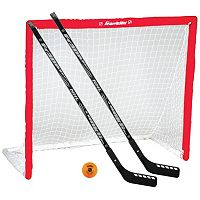 Franklin Sports NHL Hockey Goal, Hockey Stick & Ball Set