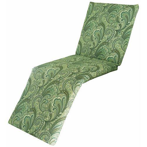 Metje Indoor Outdoor Reversible Chaise Lounge Cushion