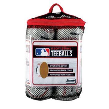 Franklin Sports MLB 6-pk. Soft Strike Teeballs