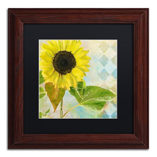Trademark Fine Art Soleil III Framed Wall Art