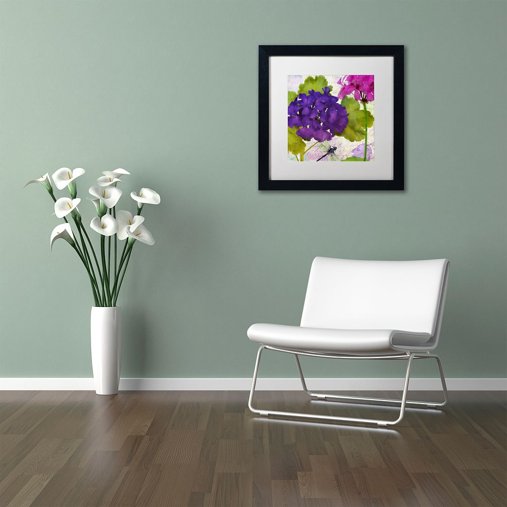 Trademark Fine Art Gaia I Black Framed Wall Art