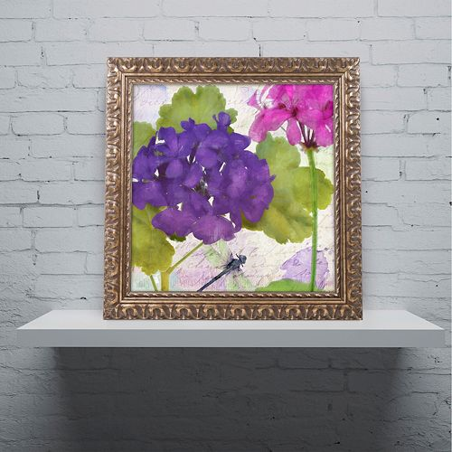 Trademark Fine Art Gaia I Ornate Framed Wall Art