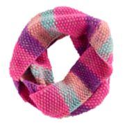 Girls 4-16 SO® Striped Marled Infinity Scarf