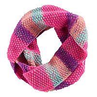 Girls 4-16 SO® Striped Marled Infinity Scarf