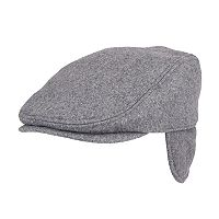 Men's Dockers® Wool-Blend Quilted Melton Earflap Ivy Cap