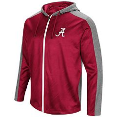 Men's Campus Heritage Alabama Crimson Tide Sleet Full-Zip Hoodie
