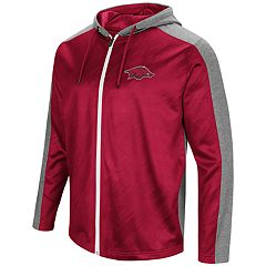 Men's Campus Heritage Arkansas Razorbacks Sleet Full-Zip Hoodie