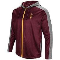 Men's Campus Heritage Arizona State Sun Devils Sleet Full-Zip Hoodie