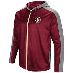 Men's Campus Heritage Florida State Seminoles Sleet Full-Zip Hoodie