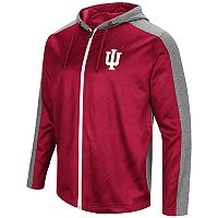 Men's Campus Heritage Indiana Hoosiers Sleet Full-Zip Hoodie
