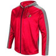 Men's Campus Heritage Louisville Cardinals Sleet Full-Zip Hoodie