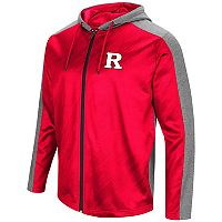 Men's Campus Heritage Rutgers Scarlet Knights Sleet Full-Zip Hoodie