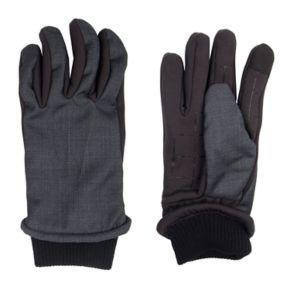 Men's Dockers InteliTouch Mixed Media Touchscreen Gloves
